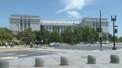Rayburn Congressional Office Building in Washington, D.C. Stock Footage