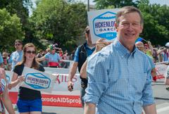 Colorado Governor at Denver Pridefest 2014 - stock photo