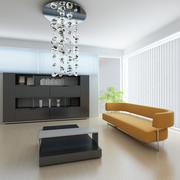 Stock Illustration of modern living room