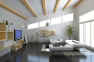 Stock Illustration of modern living room