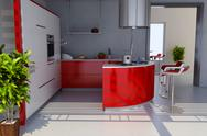 Stock Illustration of modern kitchen