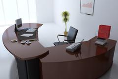 Manager office Stock Illustration