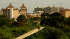 Morning in Pattaya. - stock footage