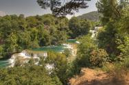Stock Photo of krka national park in croatia