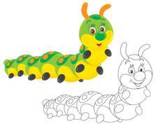 Caterpillar Stock Illustration