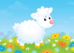 Lamb Stock Illustration