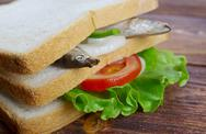 Stock Photo of sandwiches with anchovies