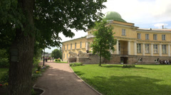 The estate Marino in the Leningrad region. 4K. Stock Footage
