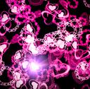 Stock Illustration of valentine hearts background