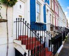 Houses in london Stock Photos