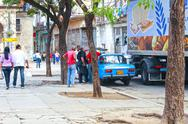 Stock Photo of streetlife in havana, cuba
