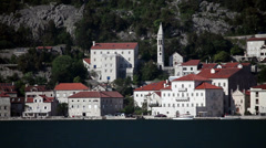 Old adriatic town - stock footage