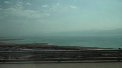 A dead sea is a world resort Stock Footage