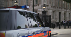 Chinese Premier Li Keqiang leaves Downing St Stock Footage