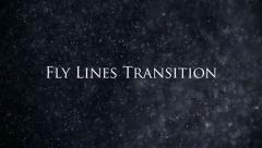 Fly Lines Transition( 5 color) - stock after effects