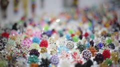 Small jewelry Stock Footage