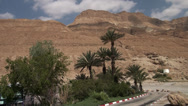 Stock Video Footage of Gores at the coast of the Dead sea outside Israel