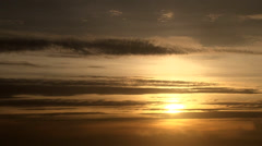 Final Light Sunset Real Time Stock Footage