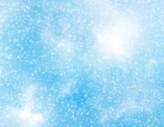 snowfall backgrounds of a sunlight cold weather - stock illustration