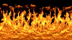 Fire-Wall - stock footage