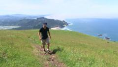 Pacific Crest Trail Hiker 2 Stock Footage