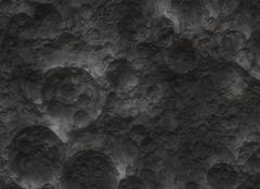 Moon crater texture surface Stock Illustration