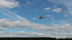 Airshow in Minsk Stock Footage