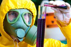 Toxic substances Stock Photos
