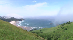 Western Wind over Cascade Head Real Time Stock Footage