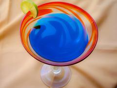 pretend cocktail - stock photo