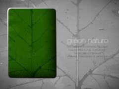 Green ecological background Stock Illustration