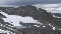 WATER SERIES 12 - HD GLACIERS MELTING HIGH MOUNTAIN TIME-LAPSE Stock Footage