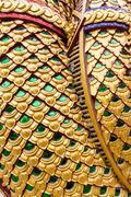 Serpent statue texture Stock Photos