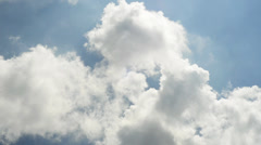 Clouds move on sky Time Lapse 1080p Stock Footage