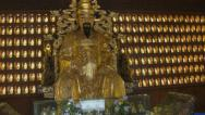 Stock Video Footage of Gold Buddha - China
