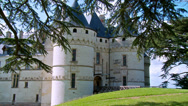 Stock Video Footage of Chateau de Chaumont (5) - Chaumont-sur-Loire France