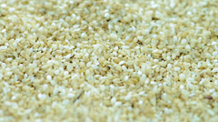 Sesame rotating background (not loopable) Stock Footage