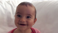 Stock Video Footage of Portrait of adorable baby