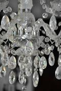 candelabrum detail - stock photo