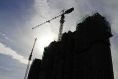 construction in progress - stock photo