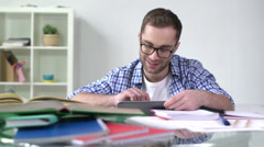 Studies Made Easy - stock footage