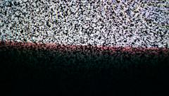 Detuned TV screen. Tv noise as background. 1920x1080, full hd footage. Stock Footage