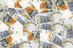 Argentine peso Stock Photos