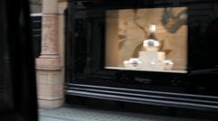 London Taxi Mayfair 4 Aspreys 3 Stock Footage