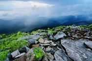 Stock Photo of Carpathian mountain landscape