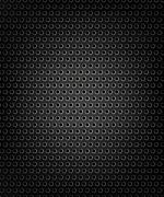 Black speaker grill, metal background Stock Illustration