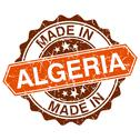 Stock Illustration of made in algeria vintage stamp isolated on white background