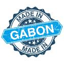 Stock Illustration of made in gabon vintage stamp isolated on white background
