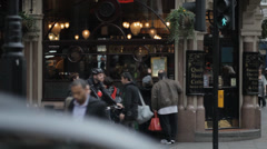 London Covent Gardens 2 Stock Footage