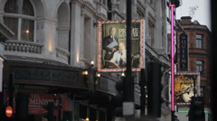 London Covent Gardens 4 Stock Footage